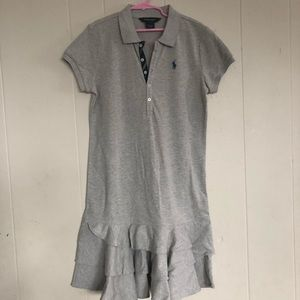 Ralph Lauren Girls Dress Sz L 12/14